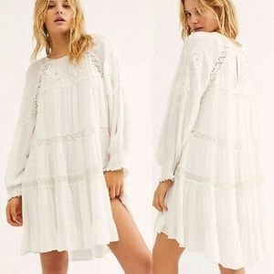 FREE PEOPLE PIECE OF YOUR HEART MINI IVORY